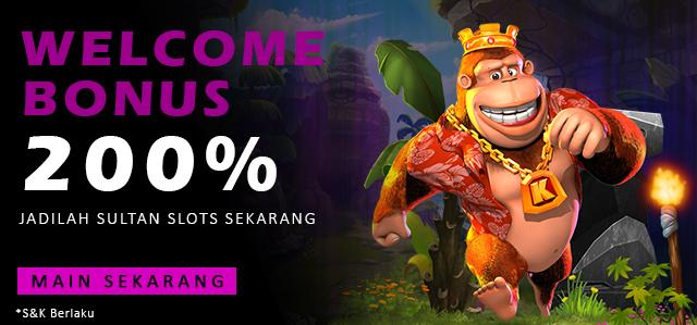 Welcome Bonus 200%